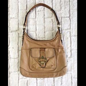 Handbags - B. Makowsky Soft Pebble Leather Shoulder bag tote